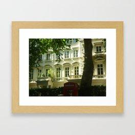 a londres Framed Art Print