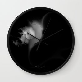 """""""echoes from underworld"""" Wall Clock"""