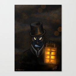 Mr Darkness Canvas Print