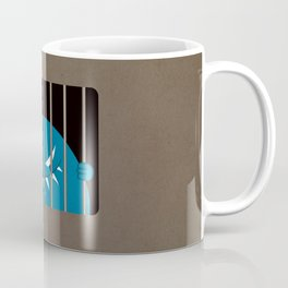 Evil Monster Kingpin Jailed Coffee Mug