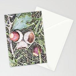 Autumn Acorns 1 Stationery Cards