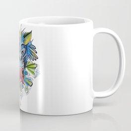 Abstract Tiger Coffee Mug