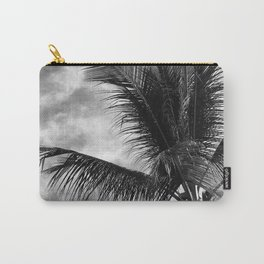 Vintage Classic Hawaiian Tropical Palm Tree Carry-All Pouch