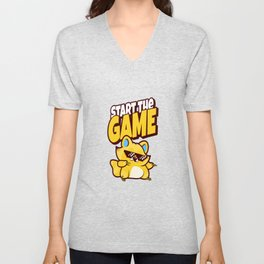 impostor verräter among time for gaming crewmate Unisex V-Neck
