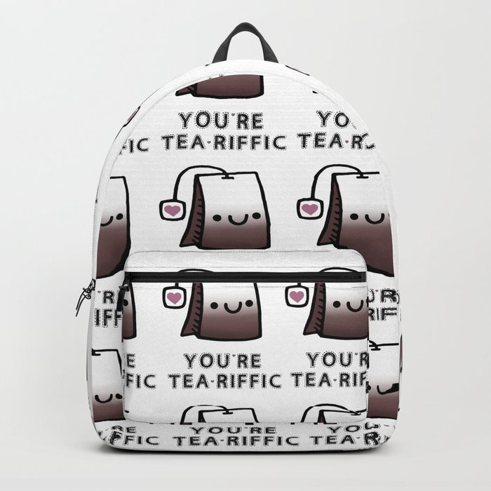 You're Tea-Riffic Backpack