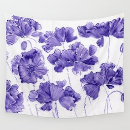 Violet Twilight Wall Tapestry