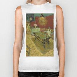 """Vincent van Gogh """"Le café de nuit (The Night Café)"""" Biker Tank"""