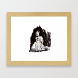 All This Weight Framed Art Print