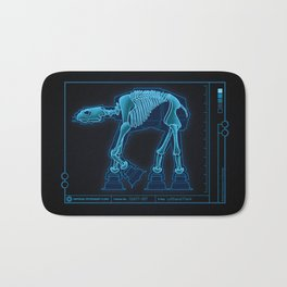 At-At Anatomy Bath Mat