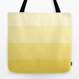 Four Shades of Yellow Tote Bag