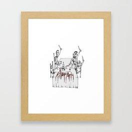 Killer Party Framed Art Print