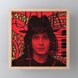 Jack White, we're going to be friends Framed Mini Art Print
