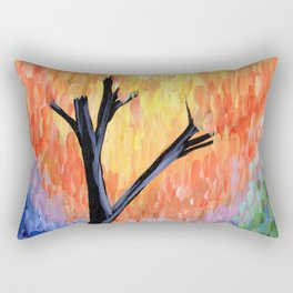 Be the Colorful Tree Rectangular Pillow