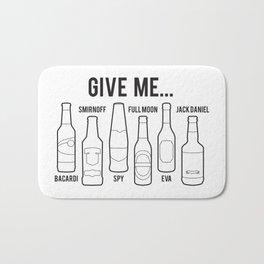 Alcoholism Bath Mat