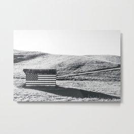 American Flag Barn, U.S.A. Metal Print