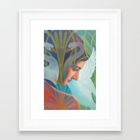 nouveau Framed Art Prints featuring Nouveau by Patrick soper