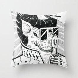 cerdo soulero Throw Pillow
