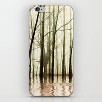 ghost iPhone & iPod Skins featuring GHOST TREES by Catspaws