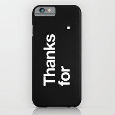 (NOTHING) Slim Case iPhone 6s