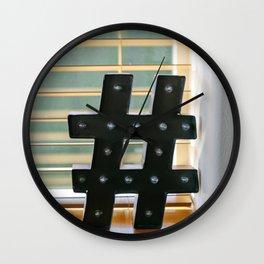Marquee Millennial Wall Clock