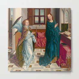 "Albert Bouts ""The Annunciation"" Metal Print"