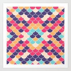 Lovely Pattern VVXVV Art Print