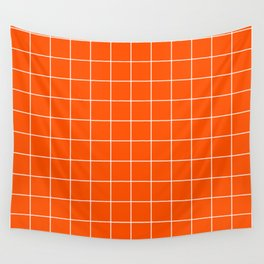 Flame Grid Wall Tapestry