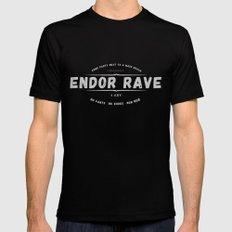 Endor Rave Mens Fitted Tee Black MEDIUM