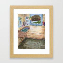 Cozy Art Studio Framed Art Print