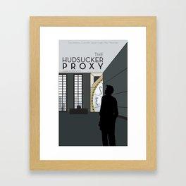 Film Friday No. 5, The Hudsucker Proxy Framed Art Print