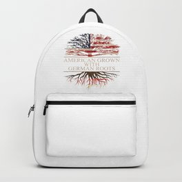 American Grown with German Roots Backpack