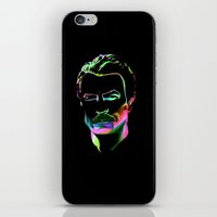 tom selleck iPhone & iPod Skins featuring Tom by Darkhorse