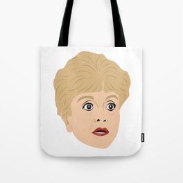 Angela Lansbury as Jessica Fletcher from Murder She Wrote Tote Bag