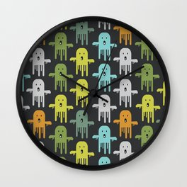 Funny ghosts Wall Clock