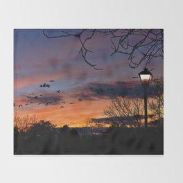 Evening Throw Blanket