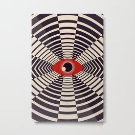 The All Gawking Eye Metal Print