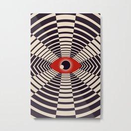 The All Gawking Eye Metal Print