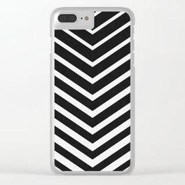 Chevron minimalist I Clear iPhone Case