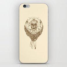 lady death // brown iPhone & iPod Skin