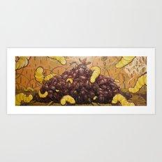 Roten chestnut Art Print