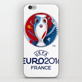 Logo Uefa Euro 2016 iPhone Skin