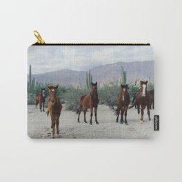 Bahía de los Ángeles Wild Horses Carry-All Pouch
