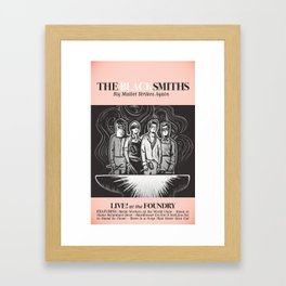 The Blacksmiths ANALOG zine Framed Art Print