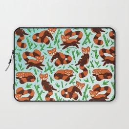 Red Panda Pattern Laptop Sleeve