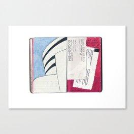 Solomon R. Guggenheim Canvas Print