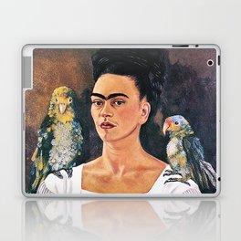 Frida Kahlo Birds Laptop & iPad Skin