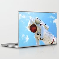 spaceman Laptop & iPad Skins featuring Spaceman by Richwill Company