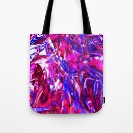Fluid Painting (Purple Version) Tote Bag