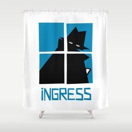 Ingress (Resistance) Shower Curtain