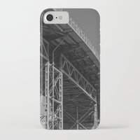 bridge iPhone & iPod Cases featuring Bridge by Christophe Chiozzi